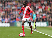 Albert Adomah during the Sky Bet Championship match between Middlesbrough and Brighton and Hove Albion at the Riverside Stadium, Middlesbrough, England on 2 May 2015.