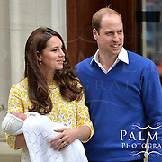 New Royal Baby with Duke &amp; Duchess of Cambridge<br /> &copy;Palmer Photography