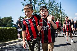 AFC Bournemouth fans - Mandatory by-line: Jason Brown/JMP - Mobile 07966 386802 08/08/2015 - FOOTBALL - Bournemouth, Vitality Stadium - AFC Bournemouth v Aston Villa - Barclays Premier League - Season opener