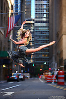 Dance As Art the New York City Photography Project- Midtown Manhattan with dancer Jocelyn Farabaugh