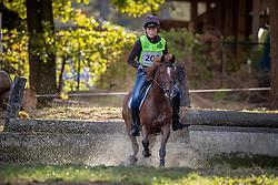Peeters Zita, BEL, Mozert van't Gebrookt<br /> LRV Ponie cross - Zoersel 2018<br /> © Hippo Foto - Dirk Caremans<br /> 28/10/2018
