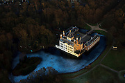 Nederland, Utrecht, Renswoude, 10-01-2011;.Kasteel Renswoude bij Renswoude in de provincie Utrecht.Castle Renswoude in Utrecht, central Netherlands..luchtfoto (toeslag), aerial photo (additional fee required).foto/photo Siebe Swart