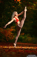 Dance As Art New York City Photography Project Central Park Fall Series with dancer, Erka Citrin