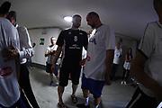 Fesenko, Marco Cusin<br /> Raduno Nazionale Maschile Senior<br /> Allenamento mattina<br /> Trento, 29/07/2017<br /> Foto Ciamillo-Castoria/ M. Brondi