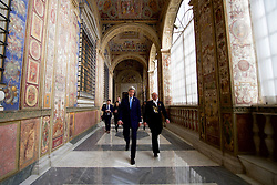 December 2, 2016 - Rome, Italy - U.S Secretary of State John Kerry walks through the halls of the Vatican following his meeting with Pope Francis at the Vatican December 2, 2016 in Rome, Italy. (Credit Image: © Us State Department/Planet Pix via ZUMA Wire)