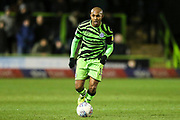 Forest Green Rovers Robert Hall(15), on loan from Oxford United on the ball during the EFL Sky Bet League 2 match between Forest Green Rovers and Carlisle United at the New Lawn, Forest Green, United Kingdom on 28 January 2020.