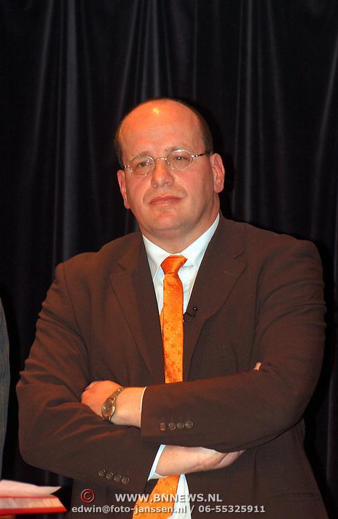 Lijsttrekkersdebat Ouderen, fractievoorzitter Leefbaar Nederland Fred Teeven