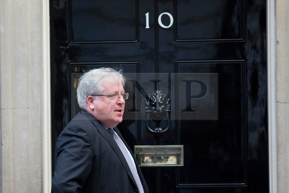 © licensed to London News Pictures. London, UK 21/11/2013. Patrick McLoughlin, Transport Secretary pictured on Downing Street on Thursday, November 21, 2013. Photo credit: Tolga Akmen/LNP