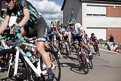 Franziska Koch (GER) of Mexx-Watersley Women's Cycling Team corners on Stage 2 of 2019 Festival Elsy Jacobs, a 111.1 km road race starting and finishing in Garnich, Luxembourg on May 12, 2019. Photo by Balint Hamvas/velofocus.com