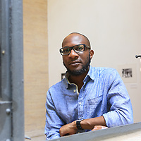 Teju Cole, Rome, Italy 22 June 2016<br /> <br /> Photograph by Steve Bisgrove/Writer Pictures<br /> <br /> WORLD RIGHTS