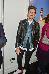 HENRY HOLLAND at a party to celebrate the launch of the Maddox Gallery at 9 Maddox Street, London on 3rd December 2015.