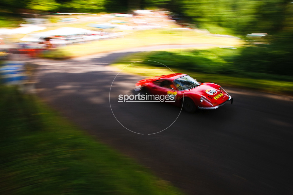 Car number 60 (driven by Colin Campbell) at Shelsley Hill climb 6/6/10