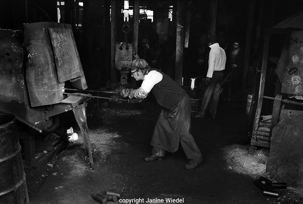 Smiths Drop Forge in Aston Birmingham in the 1970s