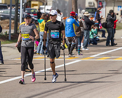 2014 Boston Marathon: mobility impaired participants
