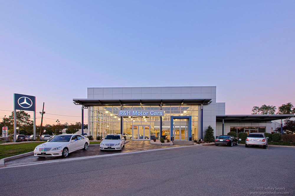 Mercedes Owings Mills >> Architectural Image Of R And H Mercedes Benz Dealership