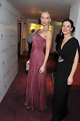 Left to right, TATIANA KORSAKOVA founder of the Sacred Heart Foundation and OLGA BALAKLEETS at the Russian Ballet Icons Gala & Dinner dedicated to Anna Pavlova held at the The London Coliseum 33-35 St.Martin's Lane, London on 4th March 2012.