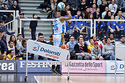 DESCRIZIONE : Trento Beko All Star Game 2016 Dolomiti Energia Three Point Contest<br /> GIOCATORE : Tyrus McGee<br /> CATEGORIA : Tiro Tre Punti Three Point<br /> SQUADRA : Vanoli Cremona<br /> EVENTO : Beko All Star Game 2016<br /> GARA : Dolomiti Energia Three Point Contest<br /> DATA : 10/01/2016<br /> SPORT : Pallacanestro <br /> AUTORE : Agenzia Ciamillo-Castoria/L.Canu