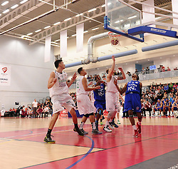 Bristol Flyers' Bree Perine scores  - Photo mandatory by-line: Joe Meredith/JMP - Mobile: 07966 386802 - 21/02/2015 - SPORT - Basketball - Bristol - SGS Wise Campus - Bristol Flyers v Plymouth Uni Raiders - British Basketball League