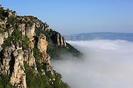 23/08/13 - CAUSSE MEJEAN - LOZERE - FRANCE - Le Parc National des Cevennes vues du Causse Mejean - Photo Jerome CHABANNE