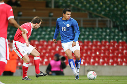 CARDIFF, WALES - WEDNESDAY, MARCH 1st, 2006: Paraguay's Julio dos Santos during the International Friendly match against Wales at the Millennium Stadium. (Pic by Dan Istitenel/Propaganda)