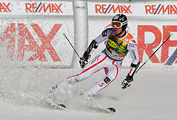 Hannes Reichelt of Austria during 2nd Rund of Men's Giant Slalom of FIS Ski World Cup Alpine Kranjska Gora, on March 5, 2011 in Vitranc/Podkoren, Kranjska Gora, Slovenia.  (Photo By Vid Ponikvar / Sportida.com)