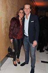 JAKE & SAMIRA PARKINSON-SMITH at the Rodial Beautiful Awards 2013 held at St Martin's Lane Hotel, St.Martin's Lane, London on 19th March 2013.