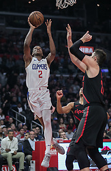 December 17, 2018 - Los Angeles, California, United States of America - Shai Gilgeous-Alexander #2 of the Los Angeles Clippers takes a shot during their NBA game with the Portland Trailblazers on Monday December 17, 2018 at the Staples Center in Los Angeles, California. Clippers lose to Trailblazers, 127-131. JAVIER ROJAS/PI (Credit Image: © Prensa Internacional via ZUMA Wire)
