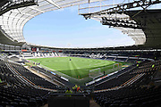 Hull City KC Stadium before the Sky Bet Championship match between Hull City and Rotherham United at the KC Stadium, Kingston upon Hull, England on 7 May 2016. Photo by Ian Lyall.