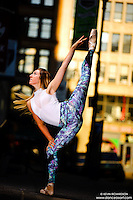 Dance As Art New York City Photography Project SoHo Series with dancer, Mykaila Symes