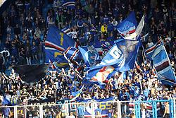 """Foto LaPresse/Filippo Rubin<br /> 03/03/2019 Ferrara (Italia)<br /> Sport Calcio<br /> Spal - Sampdoria - Campionato di calcio Serie A 2018/2019 - Stadio """"Paolo Mazza""""<br /> Nella foto: I TIFOSI DELLA SAMPDORIA<br /> <br /> Photo LaPresse/Filippo Rubin<br /> March 03, 2019 Ferrara (Italy)<br /> Sport Soccer<br /> Spal vs Sampdoria - Italian Football Championship League A 2018/2019 - """"Paolo Mazza"""" Stadium <br /> In the pic: SAMPDORIA SUPPORTERS"""