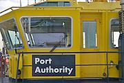 Nederland, the Netherlands, Rotterdam, 3-3-2015Een boot van de Rotterdamse port authority, de haven autoriteit.FOTO: FLIP FRANSSEN/ HOLLANDSE HOOGTE