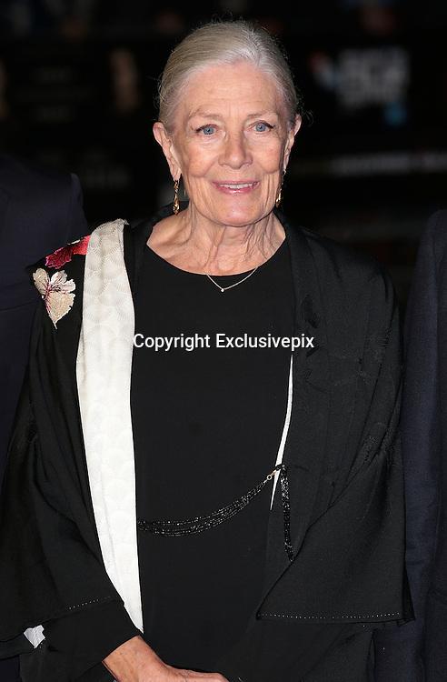 Oct 16, 2014 - 58th BFI London Film Festival - 'Foxcatcher' Gala Screening<br /> <br /> Photo Shows: Vanessa Redgrave<br /> ©Exclusivepix