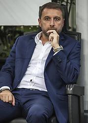August 3, 2017 - Milan, Italy - Devis Mangia during the preliminaries of Europa League 2017/2018 match between Milan v Craiova, in Milan, on august 3, 2017  (Credit Image: © Loris Roselli/NurPhoto via ZUMA Press)