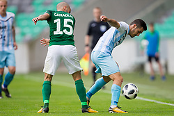 Dario Canadzija of NK Olimpija Ljubljana during football match between NK Olimpija Ljubljana and ND Gorica in Round #29 of Prva liga Telekom Slovenije 2017/18, on April 29, 2018 in SRC Stozice, Ljubljana, Slovenia. Photo by Urban Urbanc / Sportida