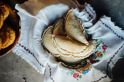 Traditional cuisine and pottery in the village of La Candelaria in Baja, Mexico