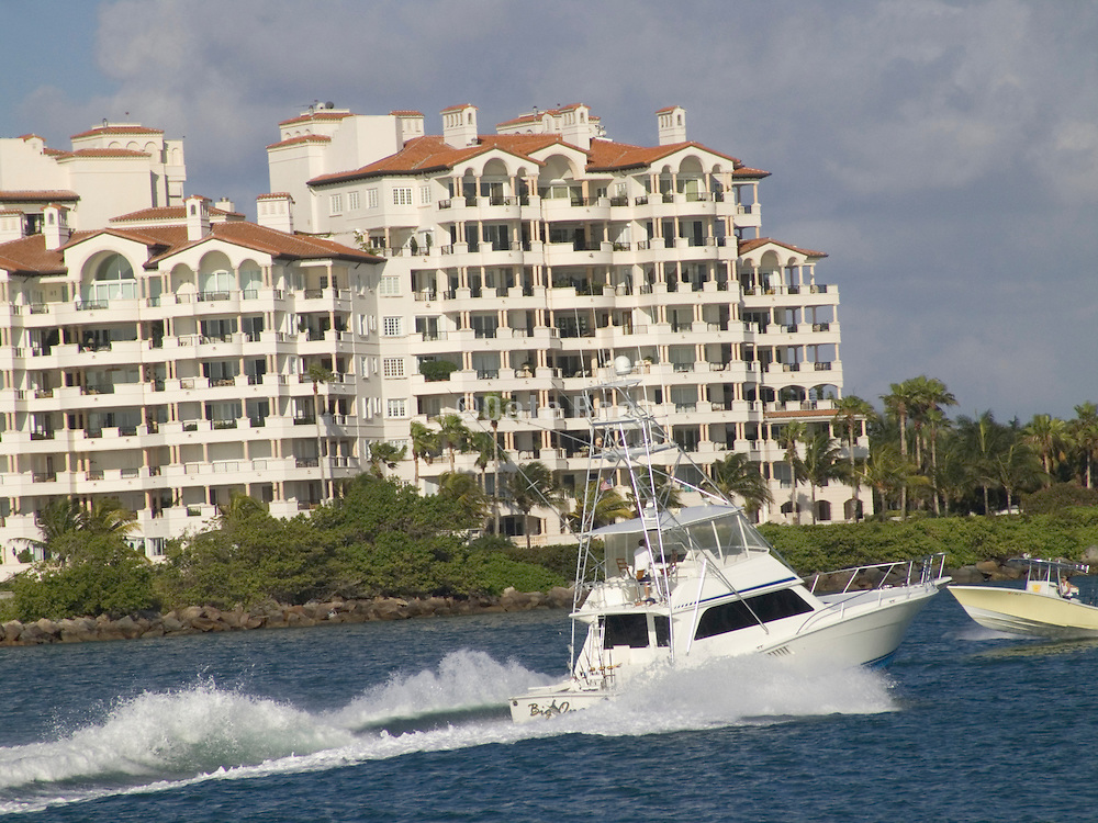 Waterfront condominiums Miami Beach USA