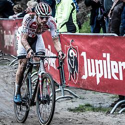 13-10-2019: Cycling: Superprestige Veldrijden: Gieten<br />David van der Poel