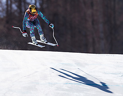 February 17, 2018 - PyeongChang, South Korea - SABRINA SIMADER of Kenya during Alpine Skiing: Ladies Super-G at Jeongseon Alpine Centre at the 2018 Pyeongchang Winter Olympic Games. (Credit Image: © Patrice Lapointe via ZUMA Wire)