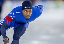 10-12-2016 NED: ISU World Cup Speed Skating, Heerenveen<br /> 1500 m men / Shani Davis USA