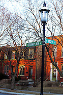 Chicago's Pullman Neighborhood Stock Images