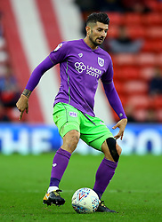 Eros Pisano of Bristol City - Mandatory by-line: Robbie Stephenson/JMP - 28/10/2017 - FOOTBALL - Stadium of Light - Sunderland, England - Sunderland v Bristol City - Sky Bet Championship
