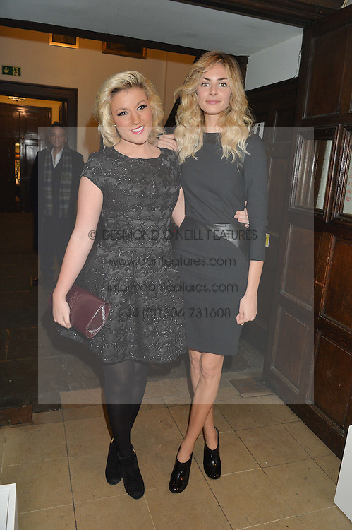 Left to right, NATALIE COYLE and TAMSIN EGERTON at the Quintessentially Foundation and The Crown Estate's Fayre of St.James' on 27th November 2014.  The evening started with a christmas concert at St.James's Church, Piccadilly.  Following the concert singer Leona Lewis switched on the Jermyn Street Christmas lights and then guests had a party at the newly refurbished Quaglino's, 16 Bury Street, London