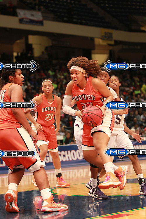 March 2, 2013; Birmingham, AL, USA;  at the Alabama High School State Basketball Championships at the Birmingham Jefferson Civic Center. Mandatory Credit: Marvin Gentry