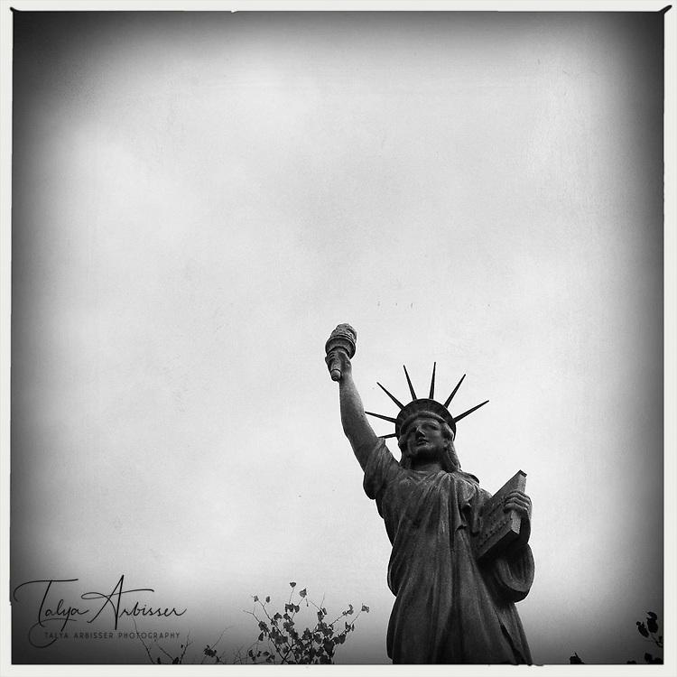 Faux Statue of Liberty - Austin, Texas