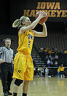 January 28, 2012: Iowa Hawkeyes guard Kamille Wahlin (2) eyes the basket during the NCAA women's basketball game between the Purdue Boilermakers and the Iowa Hawkeyes at Carver-Hawkeye Arena in Iowa City, Iowa on Saturday, January 28, 2012.