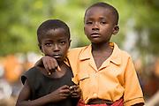 Young girls.Northern Ghana, Wednesday November 12, 2008.