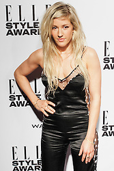 © Licensed to London News Pictures. 18/02/2014. London, UK. Ellie Goulding arrives on the red carpet for the Elle Style Awards on the Embankment in central London. Photo credit : Andrea Baldo/LNP