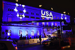 Wahlparty zur US-Wahlnacht 2016 in der Hauptstadtrepräsentanz der Bertelsmann SE & Co KGaA in Berlin<br /> <br /> / 081116<br /> <br /> *** Election Party at the Bertelsmann House in Berlin, Germany; November 8th, 2016 ***