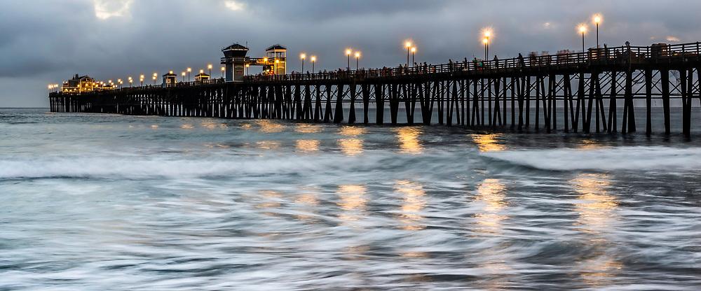 Oceanside Pier After Sundown