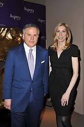 JOHN & DARCY RIGAS at the BAFTA Nominees party 2011 held at Asprey, 167 New Bond Street, London on 12th February 2011.